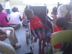 Un handicapé