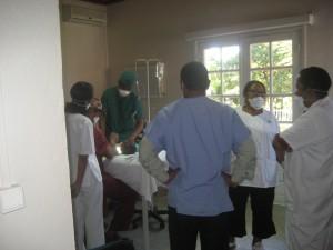 L'équipe de la clinic