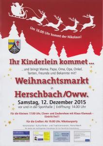 Ankündigung Weihnachtsmarkt (1)