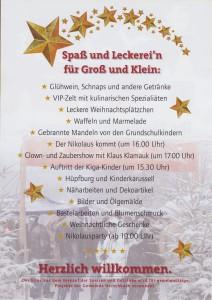 Ankündigung Weihnachtsmarkt (2)